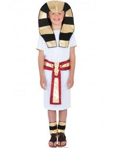 Disfraz egipcio para niño