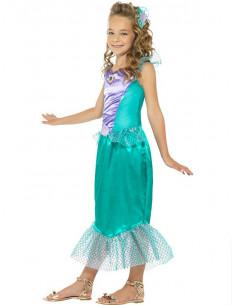 Disfraz sirenita deluxe para niña