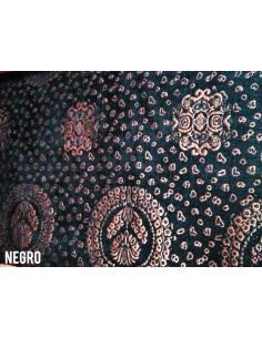 Tejido tapiceria estampada bronce