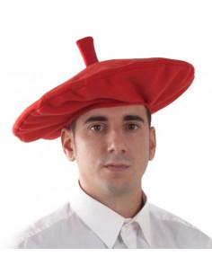 Txapela vasca roja