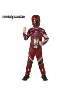 Disfraz Power Ranger Rojo para niño
