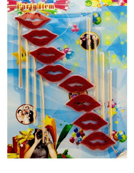 Set photocall labios rojos envase