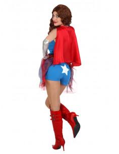 Disfraz superheroína mujer