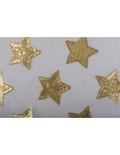 Tul Store estrellas metalizadas