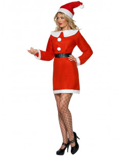 Disfraz Miss Mamá Noel