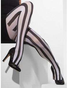 Panty de rayas para mujer