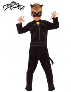 Disfraz Catnoir Ladybug para niño