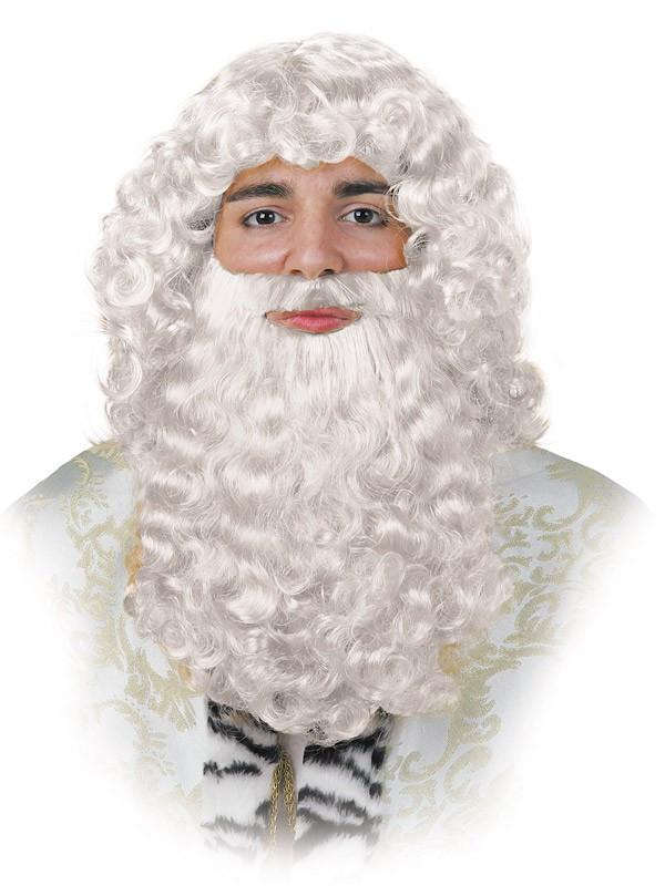 Barba rey blanco