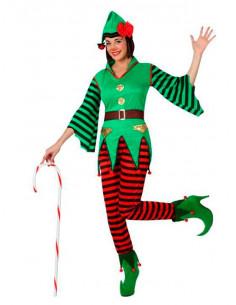 Disfraz Elfa para mujer
