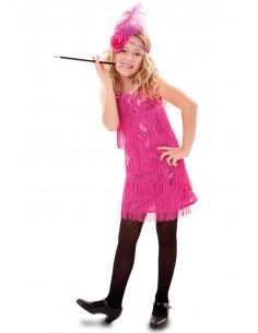 Disfraz de charleston para niña
