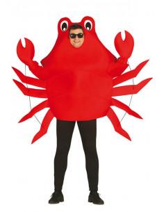 Disfraz cangrejo para adulto