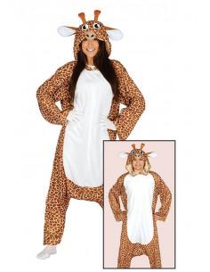 Disfraz jirafa pijama para adulto