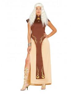 Disfraz Reina Dragon guerrera mujer