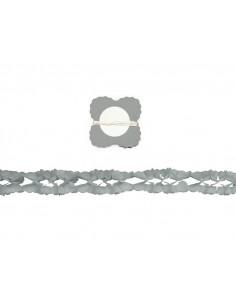 Guirnalda metalizada Plata