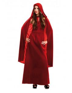 Disfraz Hechicera roja para mujer