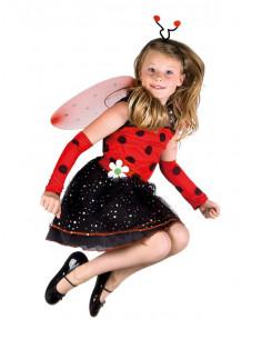 Disfraz mariquita para niña