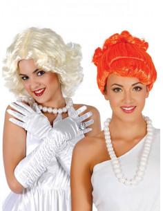 Collar perlas Wilma Picapiedra