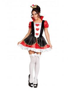 Disfraz Reina de corazones sexy para mujer