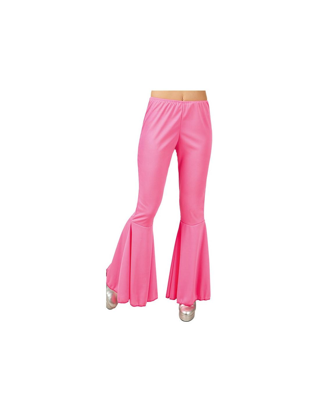 Pantalón disco acampanado para mujer - Comprar en Tienda Disfraces ...