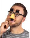 Gafas con nariz y bigote peludas