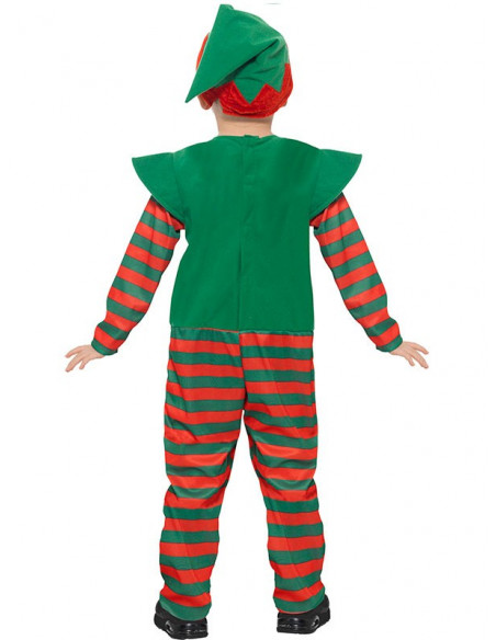 Disfraz elfo infantil unisex espalda