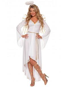 Disfraz ángel deluxe para mujer