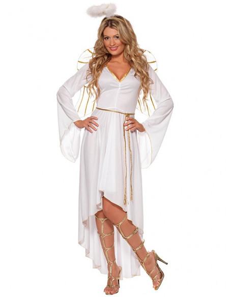 Disfraz ángel deluxe