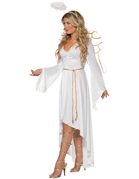 Disfraz ángel deluxe lateral