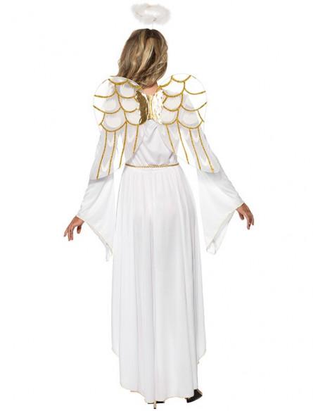 Disfraz ángel deluxe trasera