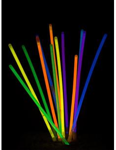 Pulseras luminosas fluorescentes 50 unidades