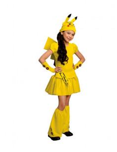 Disfraz Pikachu Pokemon niña