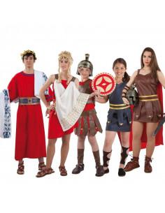 Disfraces de romanos para grupos