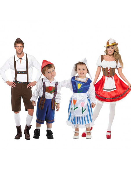 Disfraces de Tiroleses para Grupos