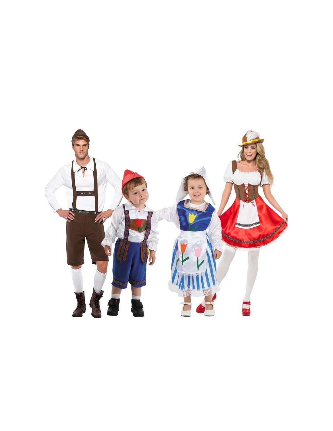 Disfraz de Tiroleses en grupo - Comprar en Tienda Bacanal c4a2f09e5aac