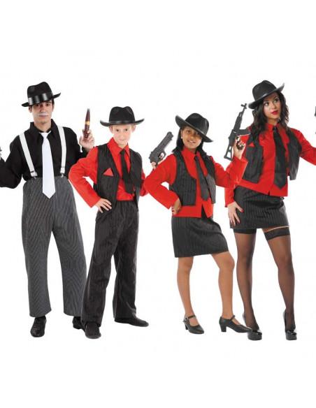 Disfraces de Gangster para Grupos