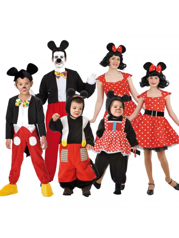 Disfraces de Ratoncitos para grupos