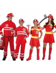 Disfraces de bomberos para grupos