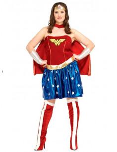 Disfraz Wonder Woman mujer talla grande