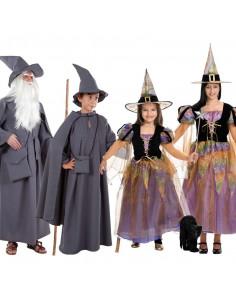 Disfraces de Brujas y Magos para grupos