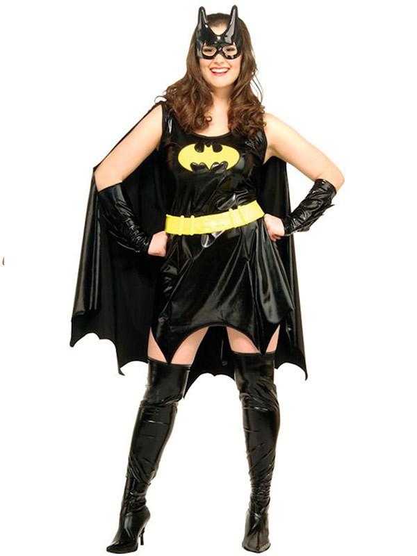 Disfraz Batgirl Sexy Talla Grande Comprar En Tienda Disfraces Bacanal