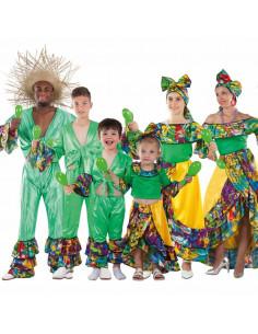 Disfraces de Rumberos Caribeños para grupos