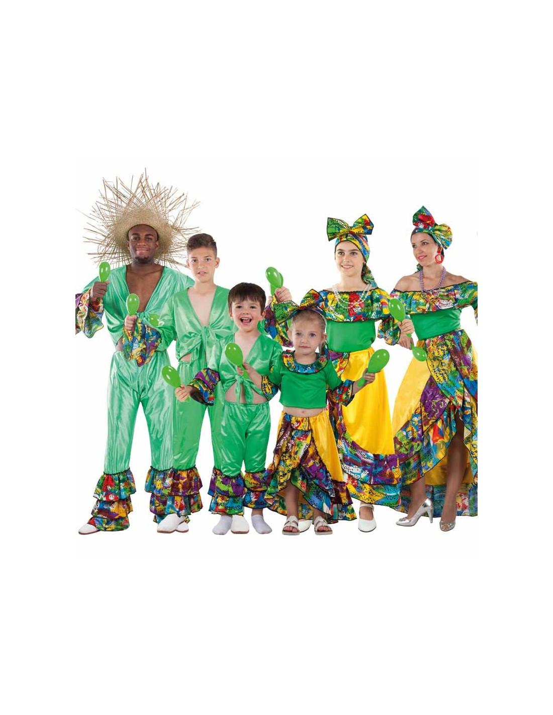 Disfraz en grupo de Rumberos Caribeños - Comprar en Tienda Bacanal e5efcdb869a4