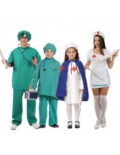 Disfraces de Enfermeras y Médicos para grupos