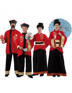 Disfraces de chinos para grupos