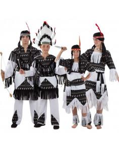 Disfraces de Indios para Grupos
