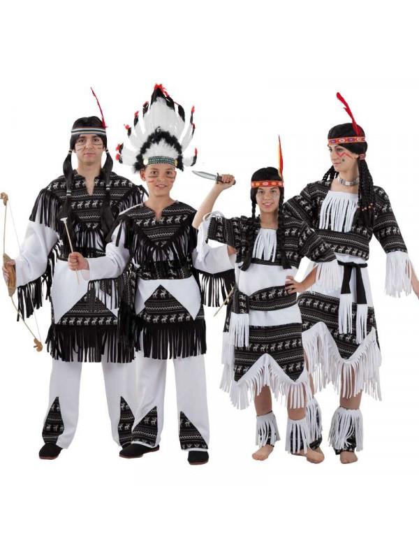 Disfraces de Indios Cherokee para Grupos