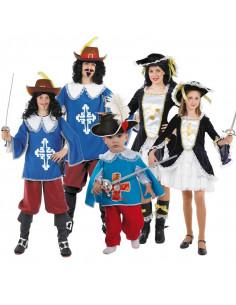 Disfraces de Mosqueteros para Grupos