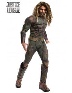 Disfraz Aquaman JL Movie deluxe para adulto