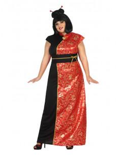Disfraz de china mujer talla grande