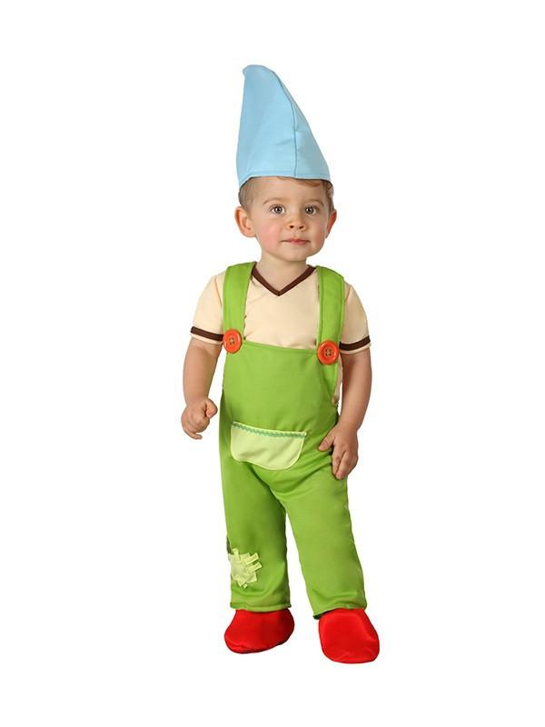 Disfraz de duende bebé para niño